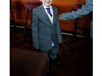 Boys 5 peice wedding suit