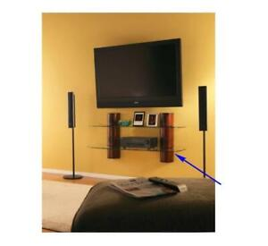 Grav-i-t Hanging Media Console for Wall-mounted TV's - AW2T4TC