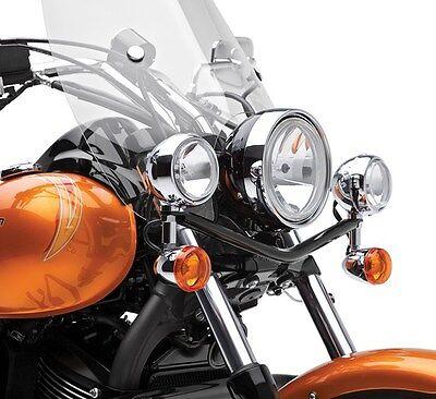 KAWASAKI VULCAN VN900 CUSTOM BLACK LIGHT BAR WITH LAMPS K32001-013B