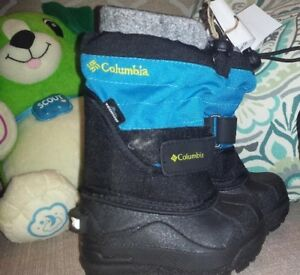 Infant boots (columbia), shoes (geox) slippers (robeez)
