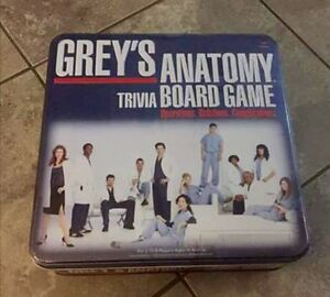 ISO: Greys Anatomy Trivia Board Game