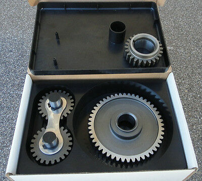 PONTIAC 265 455 ALL V8 STEEL DUAL IDLE GEARS TIMING GEAR DRIVE SET   NOISY