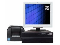Wincor Nixdorf Epos System Package for Dry Cleaning ( till, cash register)
