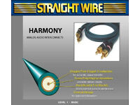 High Quality STRAIGHTWIRE Harmony RCA Stereo Interconnect 1M