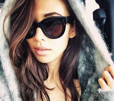 Sexy Popular Baby Audrey Round Keyhole Fashion Blogger Glasses Sunglasses (Popular Sun Glasses)