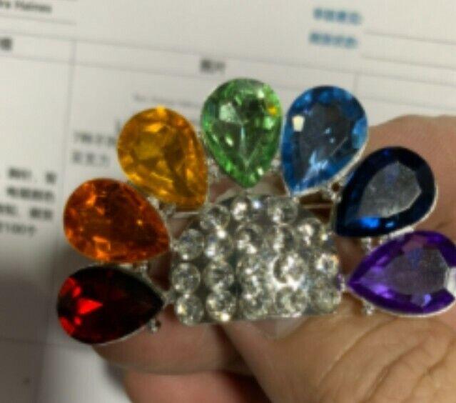 Rainbow girls bfcl - rainbow pin - brand new - iorg