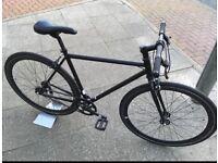 Black no logo single speed / fixed gear | good condition | £110 !