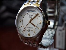 Tissot T-One Gold-Plated Automatic Watch