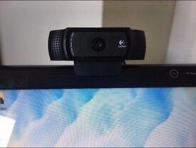 Logitech C920 pro USB 1080p Webcam