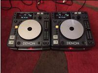 Denon DN-S1000 X 2 Serviced With Flight Case