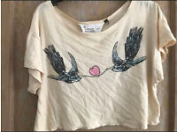 C Topshop love birds size 10