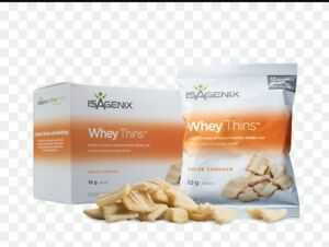 Isagenix White Cheddar Whey Thins