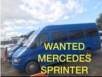 we buy Vans vehicle 4x4 Mercedes Sprinters Transit Vans Iveco for export even Scrap mot faliure