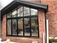 Double glazing double doors and windows