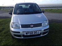 58 Fiat PANDA 1.2 DYNAMIC 5 DOOR IN SILVER ONLY 23K 1 OWNER EXCELLENT CONDITION