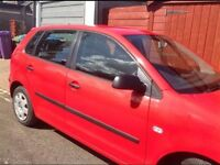 Volkswagen Polo 1.2 S 2003 5Dr Red