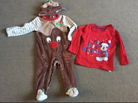 9-12 months Christmas outfit / top