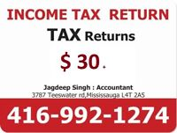 Income Tax Return from $ 30+, Supervisa  ,Life Insurance , RESP