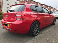 BMW 1 series remapped swap mercedes audi something different