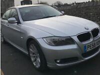 Bmw e90 e91 lci complete front end 318i 2008-2011 titan silver