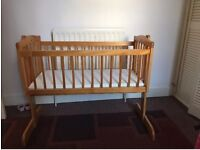 Free Mothercare Swinging Crib