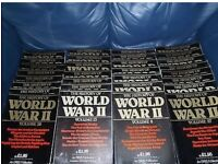 Orbis-The History Of World War 2-Magazine. Complete Set Volume 1-30