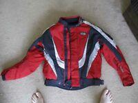 rst padded bike jacket