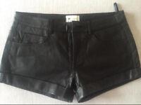 Vanessa Bruno Leather shorts UK 10 /EU 38