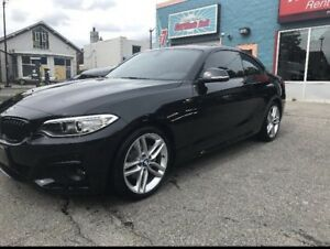 2017 BMW 230i x drive M sport. INCENTIVE!!! Lease takeover