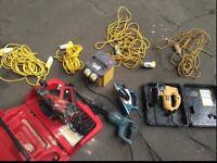 Job lot power tools Dewalt hilti Makita