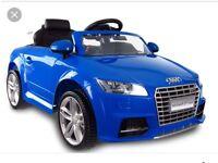 Audi TTRS 12v, Parental Remote & Self Drive,