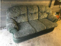 3 seater and chair + free delivery