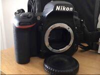 Nikon D750 24.3MP Digital SLR Camera - Black (Body Only) +bundled accesories