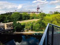 2 rooms going in a spacious 3 bed flat in Bow/ Hackney Wick