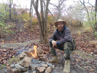 Episode #1 Of By The Campfire Podcast With Dano Bushcraft