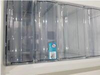 Fridge freezer with water dispenser like new