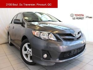 2013 Toyota Corolla S, A/C, GR ELEC, MAGS, BLUETOOTH SPORT PACKA