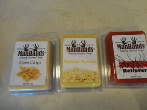 Man Hand Manly Scented assorted Soaps - Awesome Real Smells!! Kitchener / Waterloo Kitchener Area image 3