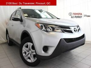 2015 Toyota RAV4 LE UPGRADE, A/C, CAM RECUL, BLUETOOTH VERY LOW