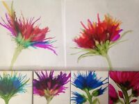 Alcohol Ink Class - Patio Coasters