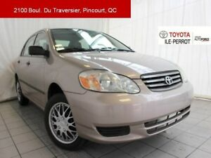 2003 Toyota Corolla CE, GRP B, A/C, VERR ÉLEC AS-IS BARGAIN!