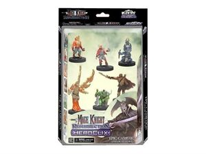MAGE KNIGHT Resurrection Epic Campaign 6 Figure Starter Set NEW! Heroclix 71053