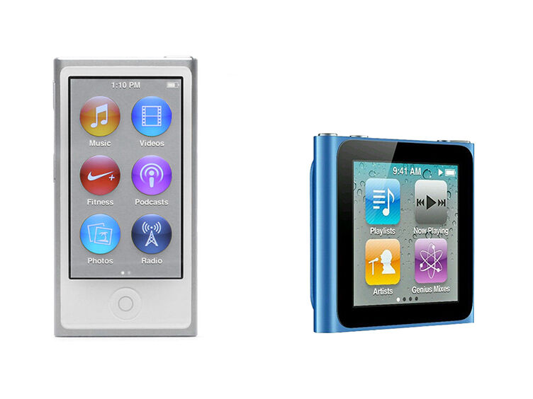 iPod Nano 7th Generation vs. iPod Nano 6th Generation | eBay