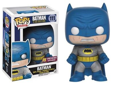 DC The Dark Knight Returns POP Heroes Batman Vinyl Figure #111 [Blue - Dark Knight Returns Batman Costume