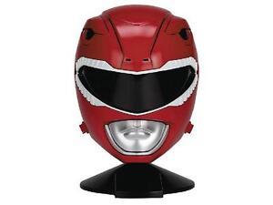 Red Ranger Legacy 1:1 scale wearable Power Rangers Helmet w/stan