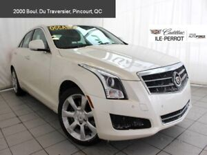 2014 Cadillac ATS SEDAN AWD AWD, LUXURY, TURBO, NAVIGATION