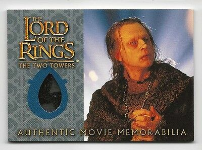 Wormtongue's Velvet Underfrock Lord of the Rings Two Towers LOTR Costume Card