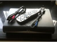 SKY PLUS HD BOX+WIFI, NEARLY LIKE NEW WITH HDMI CABLE,POWER CABLE ,REMOTE CONTROL FOR SALE
