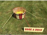 Wedding Village Fete Lawn Garden Game - Hook-A-Duck