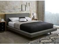 King size Dreams bed frame and mattress